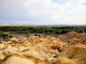 新疆、五彩灘